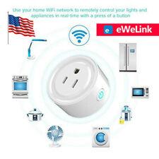 US eWelink Smart Plug WIFI Socket Mini Switch For Alexa Samsung SmartThings