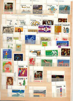 43 timbres neufs du Canada