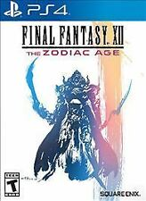 * New * Final Fantasy Xii 12 The Zodiac Age - Sony PlayStation 4 * Sealed *