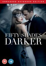 Fifty Shades Darker - The Unmasked Extended Edition DVD *NEW & SEALED*