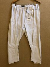LauRie Ladies Emma Capri Stretch Trousers White Size 52 UK 26 Brand New Rachel