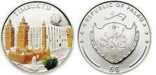 2011 Palau Large Silver Proof color $5 Timbuktu
