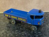 VINTAGE LESNEY MATCHBOX SENTINEL STEAM WAGON SAND & GRAVEL SUPPLIES