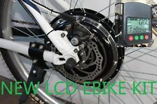 48V 1000W R ELECTRIC Bicycle Kits Conversion Motor Scooters DISC LCD PAS EBIKE