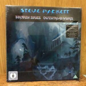 STEVE HACKETT - Broken Skies Outspread Wings CD & DVD Box Set New Sealed