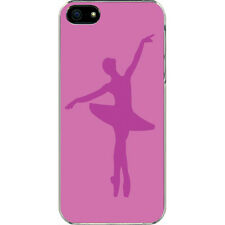 Purple Ballerina Ballet Point Feet Position Picture iPhone 6 Slim Case Cover