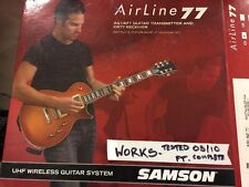 Samson AirLine 77 Guitar Wireless System w/Fender-Style Transmitter