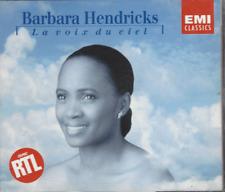 COFFRET 2 CD  BARBARA HENDRICKS LA VOIX DU CIEL   CO76