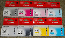 New In Boxes Genuine Canon CLI-42 8 Pack New In boxes C,M,Y,BK,PC,PM,G,LGY