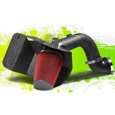 BLACK COLD AIR INTAKE PIPE&HEAT SHIELD FOR 03-07 DODGE RAM 2500/3500 5.9L DIESEL