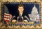 """49""""x29"""" Vintage John F. Kennedy Wall Hanging Tapestry White house American Flag"""