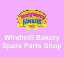 Vintage 1995 Teeny Weeny Families ~ WINDMILL BAKERY AND SHOP ~ Spare Parts Shop