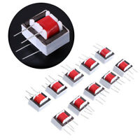 10pcs Audio Transformers 600 : 600 Europe 1:1 EI14 Isolation Transformer Ringing