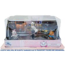 Disney Store Aristocats Figure Play Set Figurine Cats Duchess O'Malley DAMAGED
