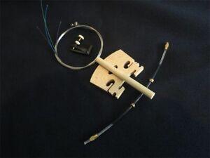 1set excellent violin(string+ tuners+Tail Guts+Bridges+post)  4/4