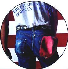 EX/EX BRUCE SPRINGSTEEN BORN IN THE USA VINYL LP PICTURE DISC