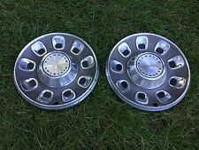 "Vintage 1968,1969 Plymouth Division 14"" Inch Hubcaps, Wheel Covers."
