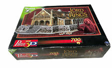 NEW - SEALED Lord Of The Rings Golden Hall Edoras Puzz 3D Wrebbit 700 Pieces