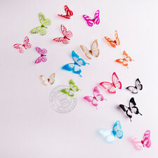 18pcs 3d Butterfly Wall Stickers Art Decal Home Kids PVC Butterflies Decoration Multi Color 02