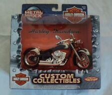 1:17 Metal Maxx Harley Davidson Flstf Fat Boy Motor Cycle