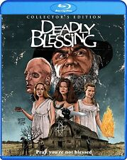 DEADLY BLESSING Blu-ray Collector's Edition Wes Craven Horror Video Maren Jensen