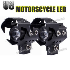 Motorcycle ATV Bike CREE U5 U8 125W LED Driving Fog Head Spot Light Lamp