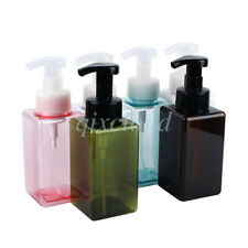 450ml Soap Dispenser Foam Foaming Pump Empty Plastic Bottles Bath Household