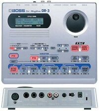 BOSS DR-3 DR. RHYTHM DRUM MACHINE & POWER SUPPLY