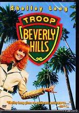 TROOP BEVERLY HILLS - SHELLEY LONG - COMEDY DVD New & Sealed R1 & 4