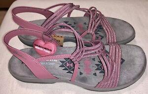 Skechers Sandale Gr.41 Rosa Neu