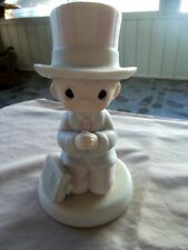 """Precious Moments """"God Bless The Usa"""" 527564, Vessel Production Mark"""