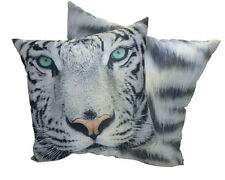 White Tiger Picture Cushion