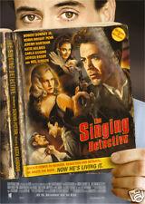 The singing detective Robert Downey Jr poster  print
