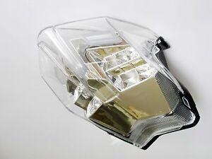 LED Rücklicht Heckleuchte weiss klar MV Brutale 675 800 clear tail light lamp