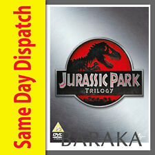 Jurassic Park Trilogy DVD box set The lost world 1 2 3 I II III Region 4 New