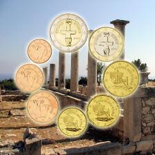 EUR, Chypre, Série de 8 pièces, 1 Centime à 2 Euro, 2014 #92462