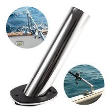 Soporte 316L Acero Inoxidable para Caña de Pescar Portacaña 30 grados con Tapa