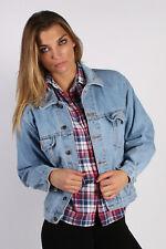 Vintage MC Orvis Unisex Denim Jacket Authentic Chore 70s Workwear L Blue DJ1271
