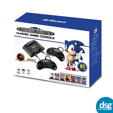 NEW SEGA MEGA DRIVE CLASSIC 81 BUILT IN GAMES CONSOLE - RETRO