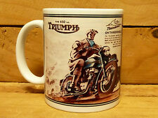 300ml COFFEE MUG, THE 650CC TRIUMPH THUNDERBIRD MOTORCYCLE