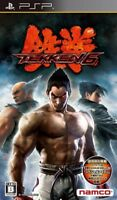 USED ​​PSP Tekken 6 Game soft