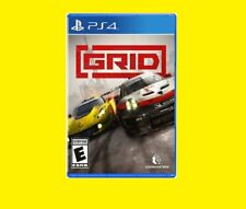 GRID Standard Edition Sony PlayStation 4 PS4 Brand New! Sealed!
