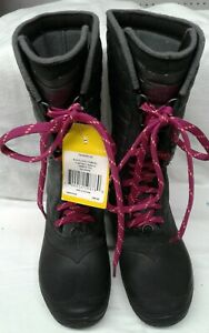 NWT The North Face Winter Boots Women's Size 7 Gray/Black
