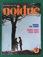 FOTOROMANZO Lancio NOIDUE n.99 (1984) MARINA COFFA PAOLO GIUSTI Rivista/Magazine