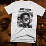 James Baldwin T-Shirt Black History Month African Civil Rights Activist, cotton