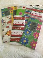 Lot Of Printed Tissue Paper  Multi Prints And Colors