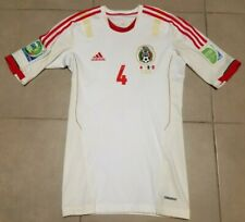 Adidas Mexico DIEGO REYES #4 2013 CUP PLAYER ISSUE Sz L Techfit Soccer Jersey