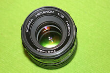 Konica Hexanon Lens 52mm f1.8 for Sony E-Mount NEX-7 6 5N A7 A7S A7RII A6500 A63