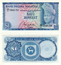 Malaysia $1 P#1a (1967) Bank Negara Malaysia AUNC