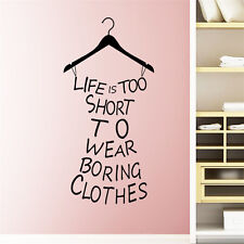 Girl Bedroom Quote Wall Sticker Art Vinyl Decal Home Room Decor DIY Removable SY